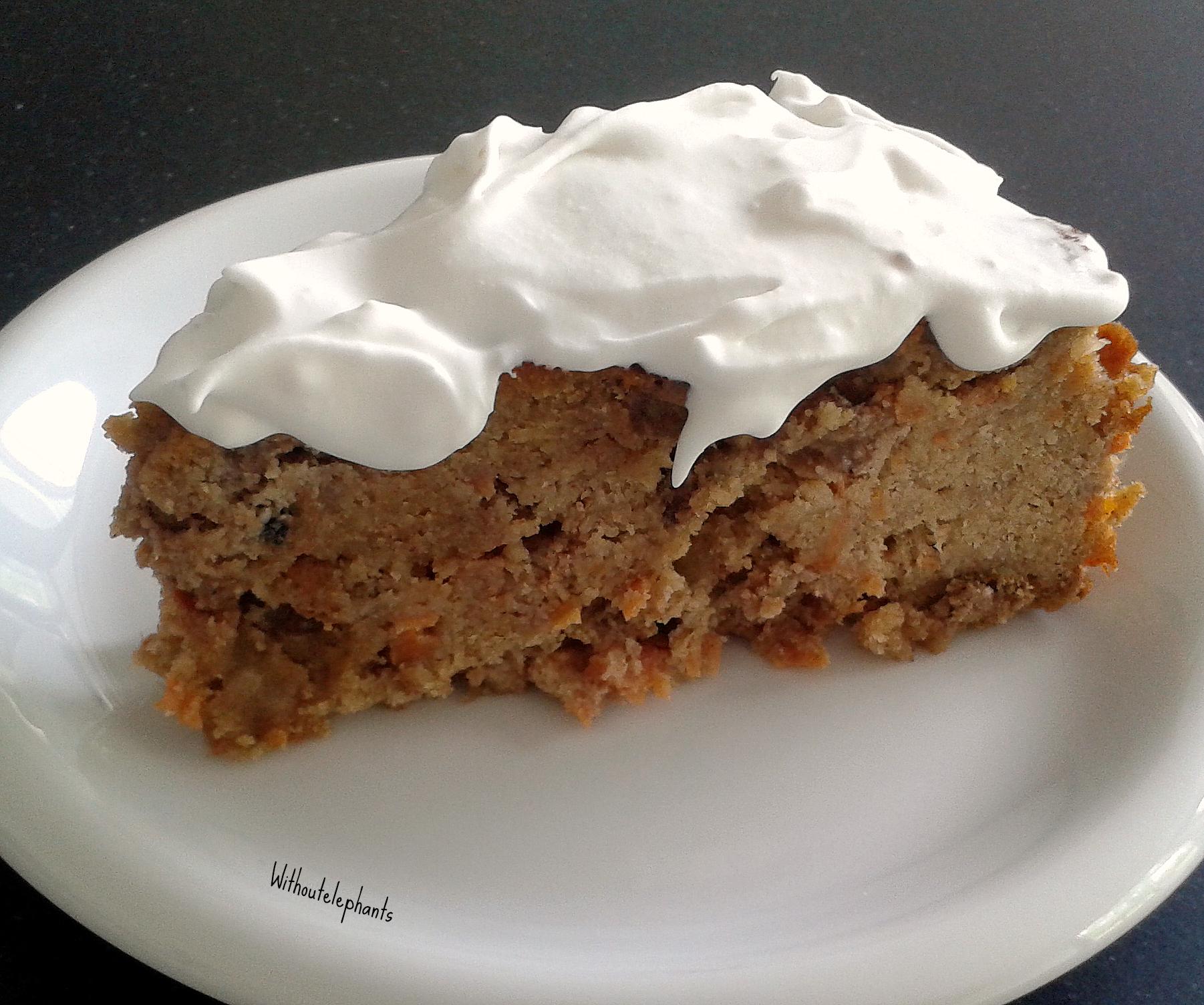 worteltaart, wortelcake, kokoscreme, carrotcake, healthy, gezond, glutenvrij, lactose vrij, suikervrij, taart, gezonde worteltaart, gezonde worteltaart recept