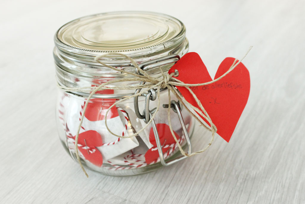 Diy Valentijnsthee In A Jar Without Elephantswithout