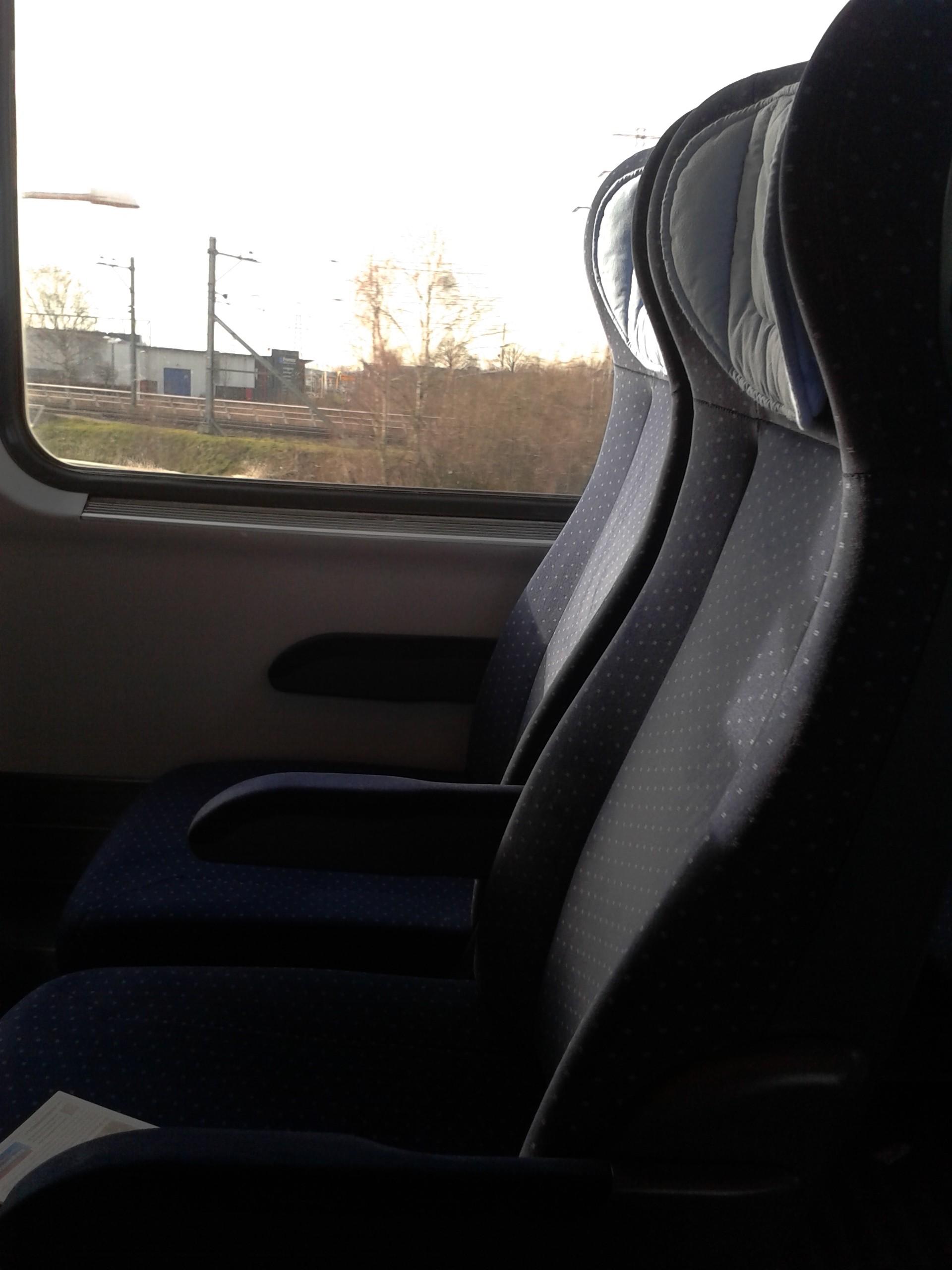 trein, berlijn, luxe, stedentrip, tweede klas