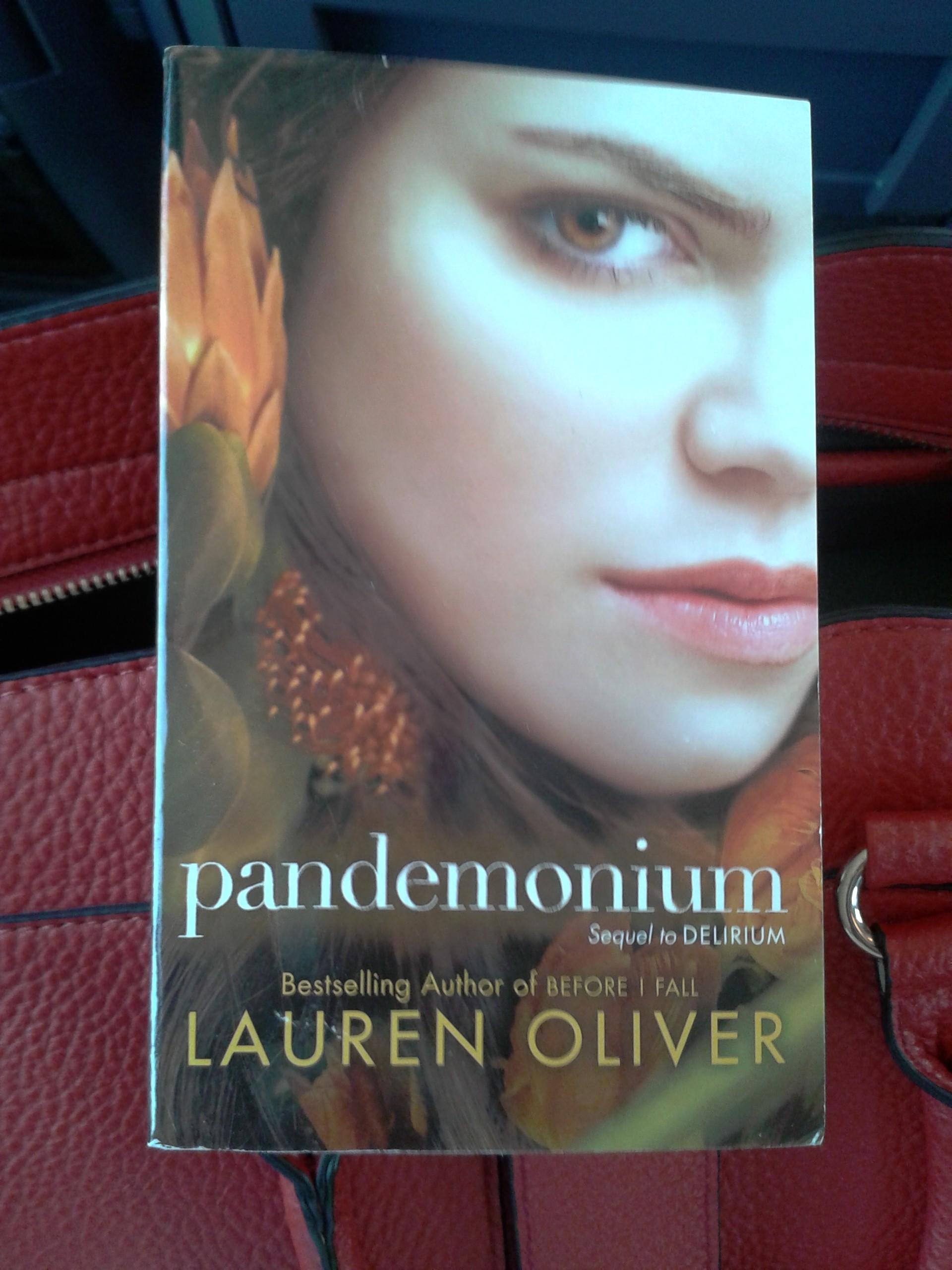 pandemonium, lauren oliver, cover