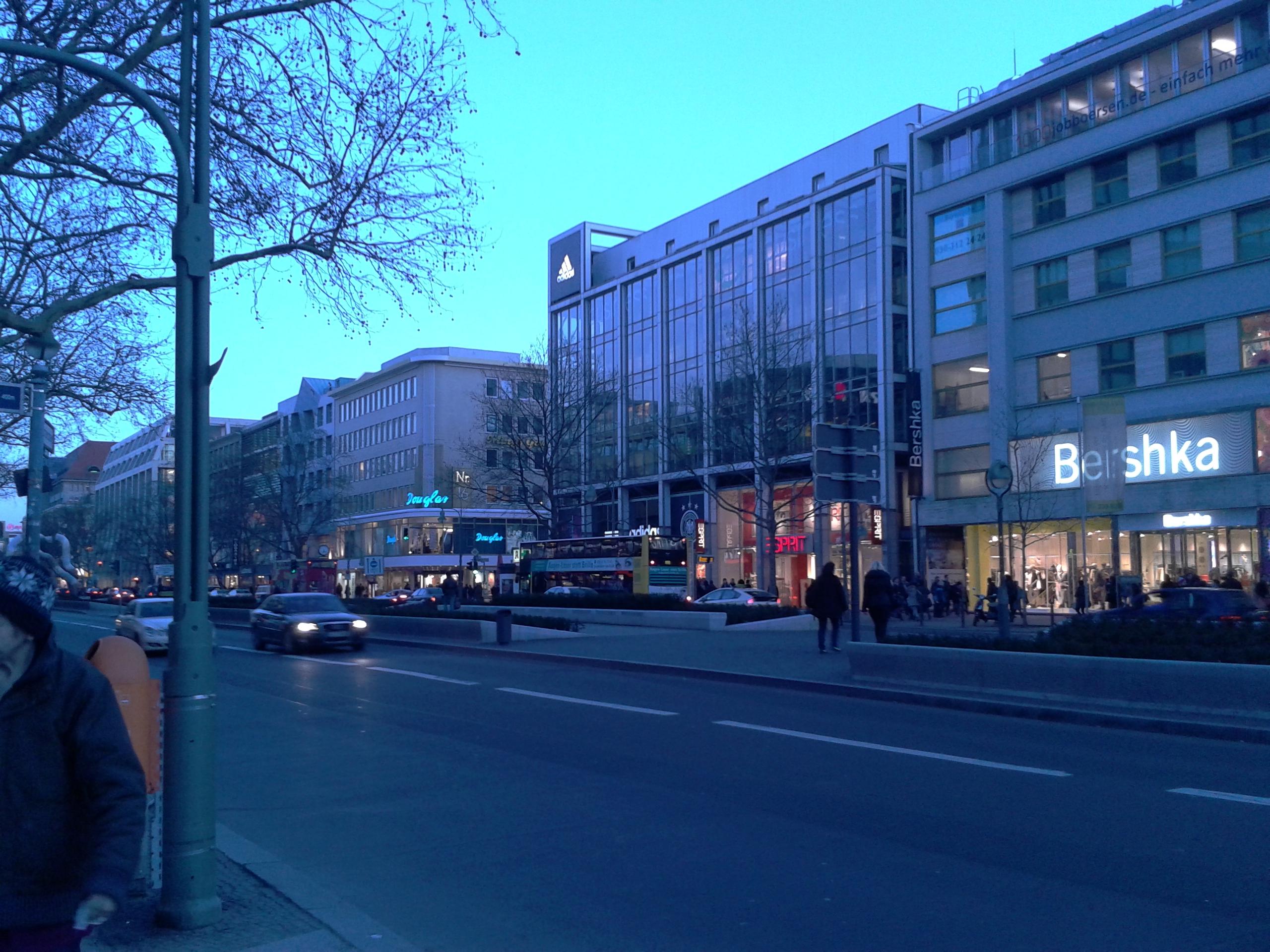 forever 21, berlijn, kadewe, winkerstraat