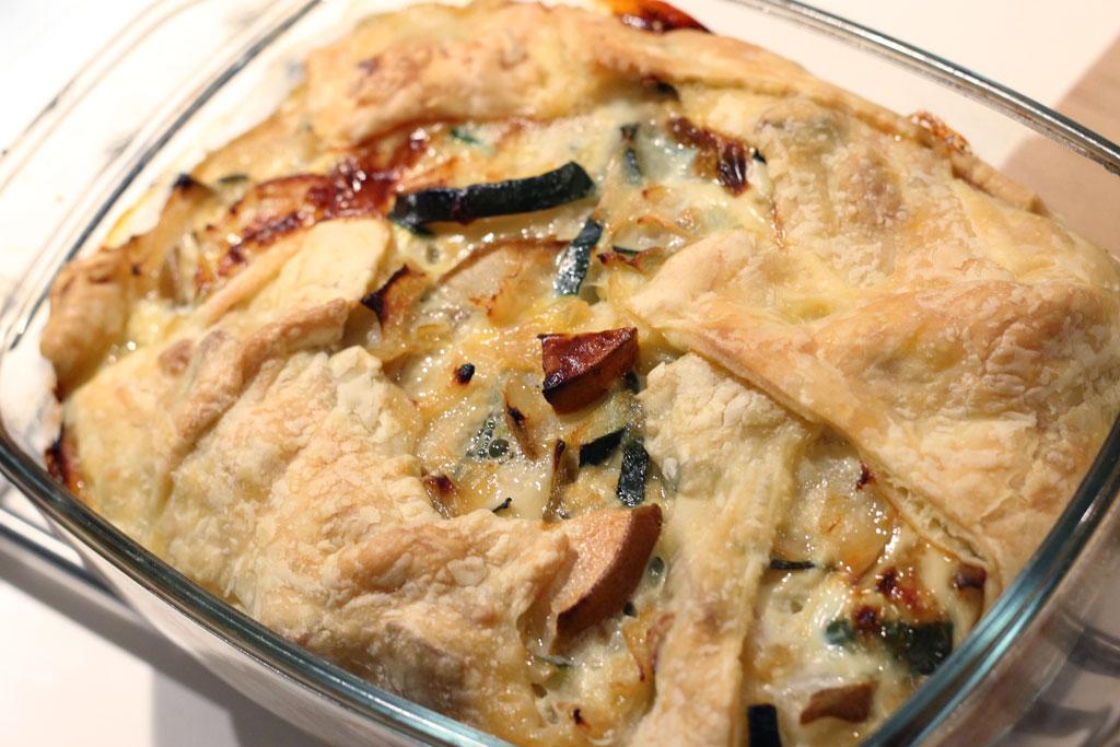 goedkope hartige taart Budget recept: Hartige taart met courgette en peer   Without  goedkope hartige taart