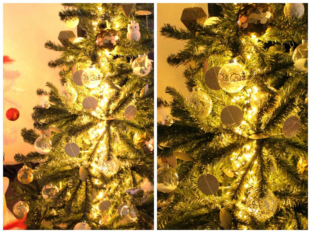 kerstboom, wit, versiering, decoratie, hema persevent, hema kerstevent, blogger, pers, hema, versiering, trendy, modern, kerst, betaalbaar, lichtjes