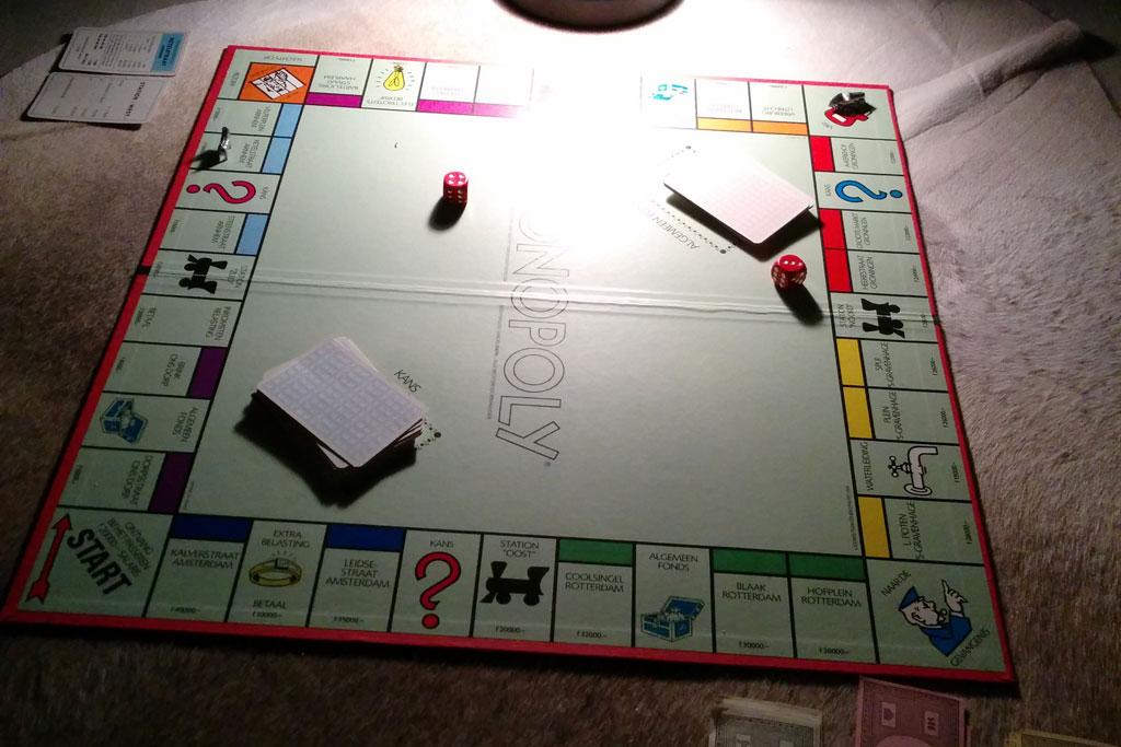 monopoly spelen, vintage monopoly, verjaardags plog, plog januari 2015