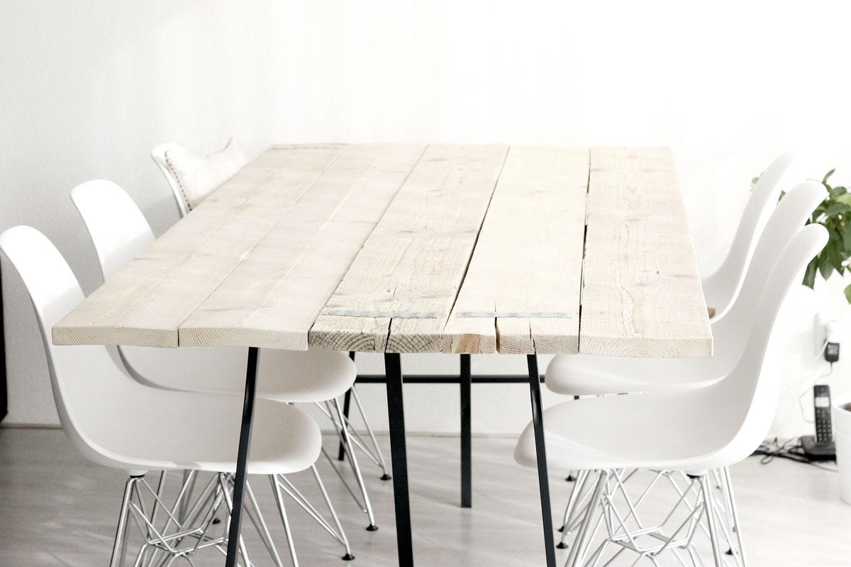 Grote Strakke Eettafel.Eindelijk Een Echte Eettafel Without Elephantswithout