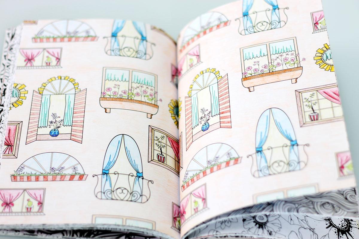 Kleurplaten Van Huizen : Huizen kleurplaat volwassenen
