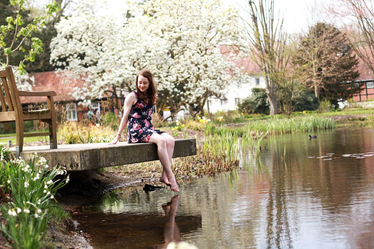 voorjaar, lente, water, dierentuin rheine, Céline, Without Elephants, Sina Buscher, zuckerguss fotografie, mooie fotos, bloesem, water, vijver, zomer