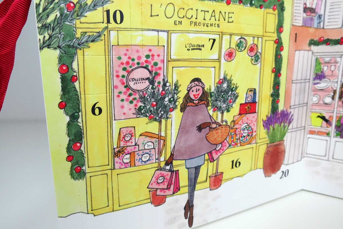 l'occitane adventskalender 2015, fot's , makeup adventskalender 2015, beauty adventskalender 2015, l'occitane