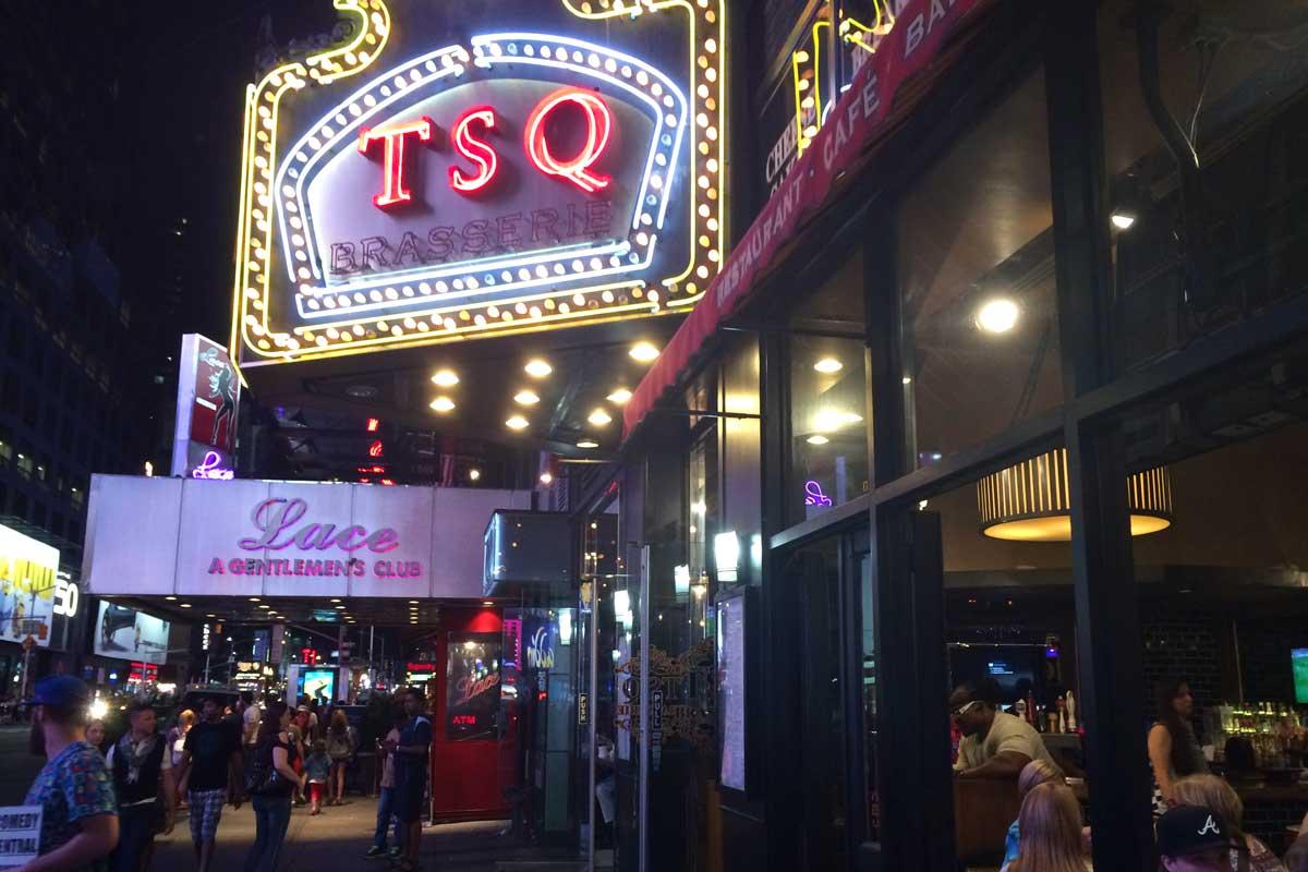 tsq brasserie, eten dichtbij broadway, times square, lekker eten new york, eten voor broadway show, waar