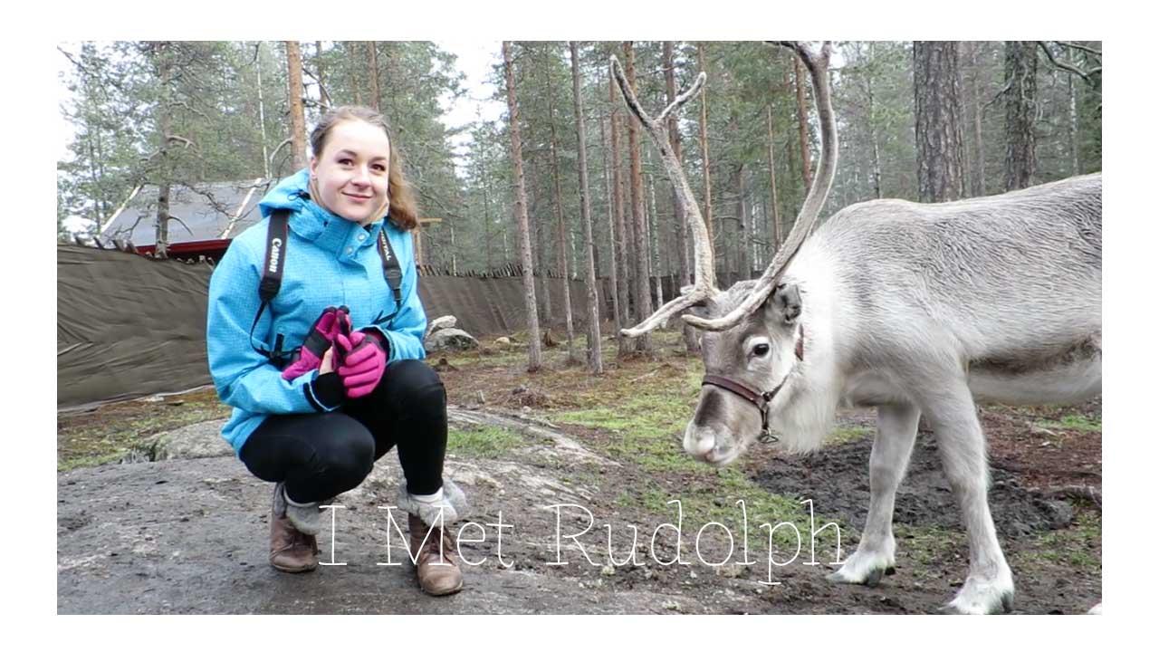 lapland vlog, vakantie lapland, youtube, santa claus holiday village, rendieren, husky's, romantisch, finland