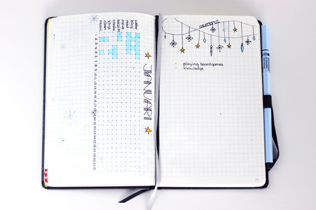 bullet journal ideas, bullet journal spread, bullet journal set, bullet journal inspiratie, bullet journal set up january, bullet journal set up januari, bullet journal nederland