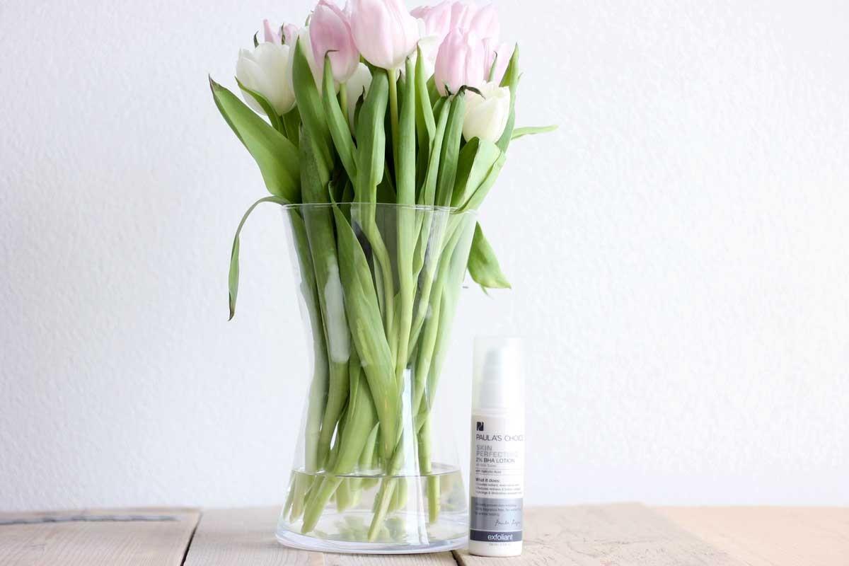 paulas choice skin perfecting BHA 2% review nederland, BHA op droge huid ervaring, voor en na