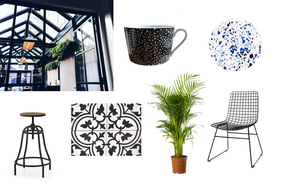 interieur inspiratie, modern, taatsdeuren, industrieel, groen, kamerplanten, house of rym, portugese tegels, marrokkaanse tegels, zwart wit, scandinavisch, licht