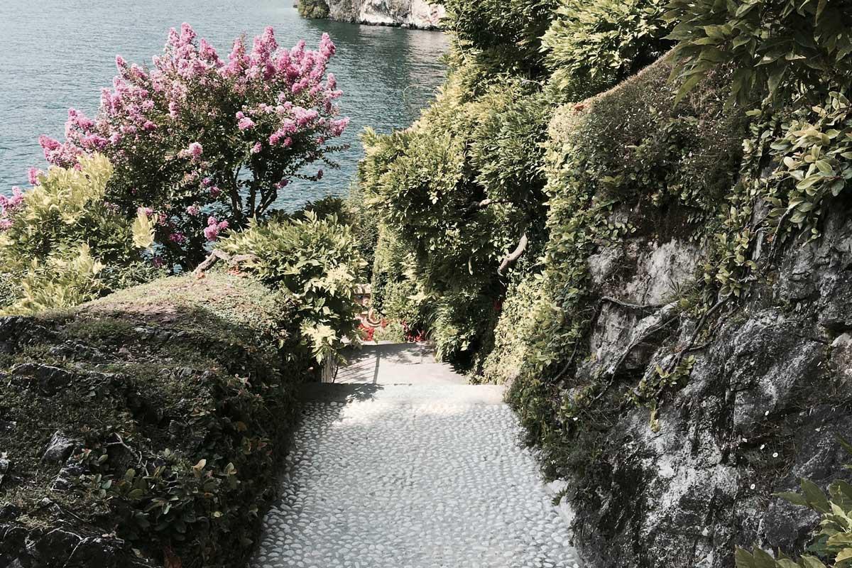 villa del balbianello, star wars, lake como italy