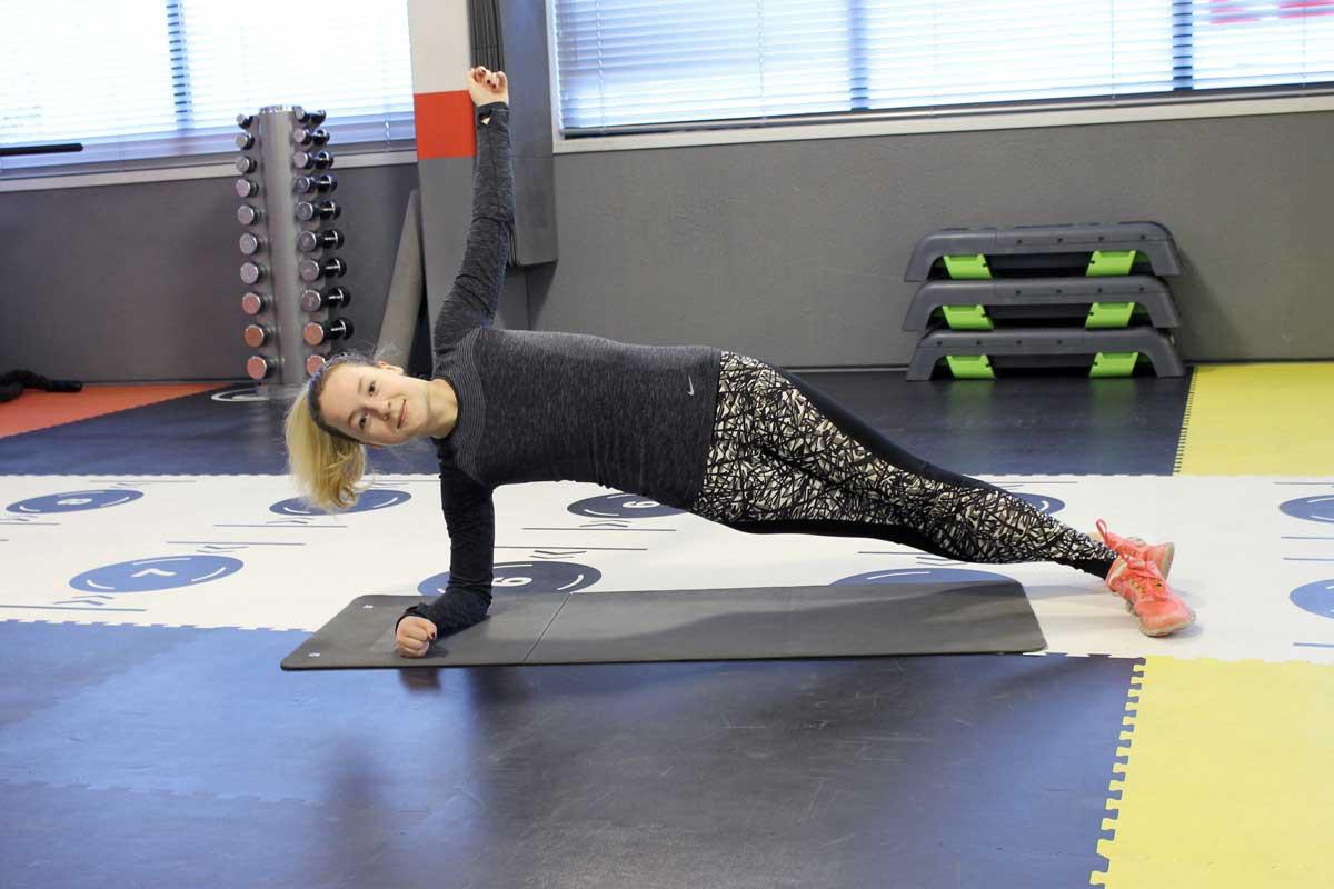 deadlift, fit for free, coretraining voor hardlopers, sneller worden met hardlopen, sideplank
