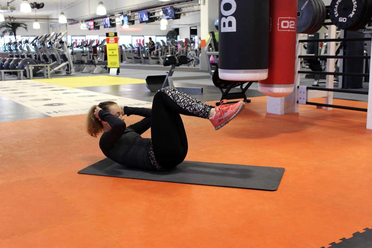 deadlift, fit for free, coretraining voor hardlopers, sneller worden met hardlopen, strict crunch
