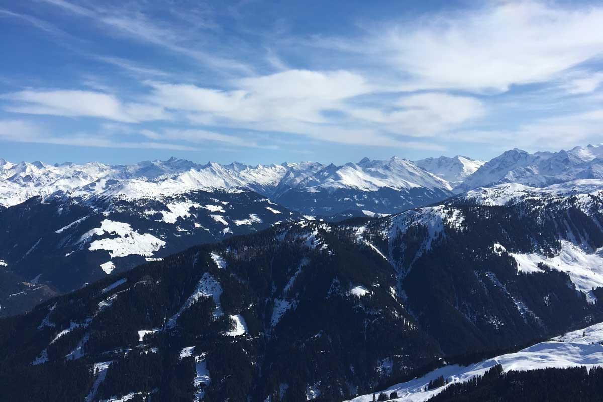 kitzbuhel steinbergkogel uitzicht