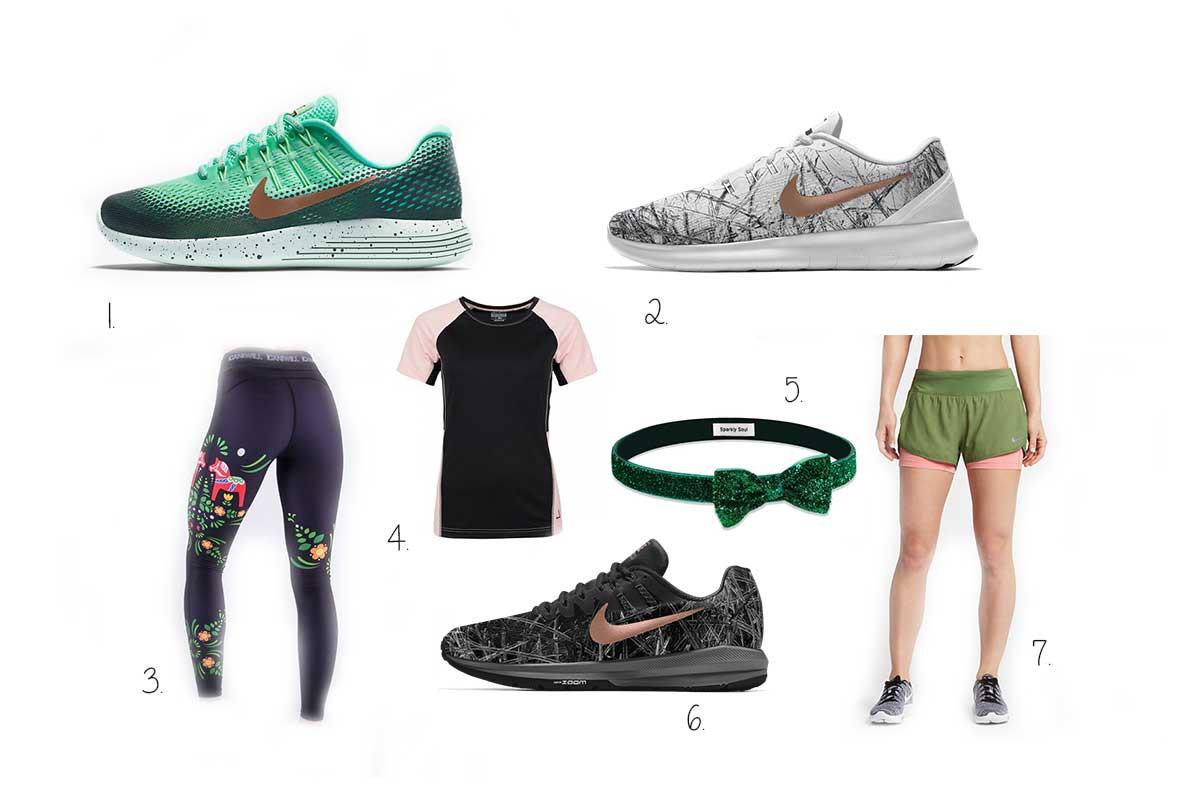 leuke hardloopkleding, hardloopoutfits, leuke sportkleding inspiratie 2017
