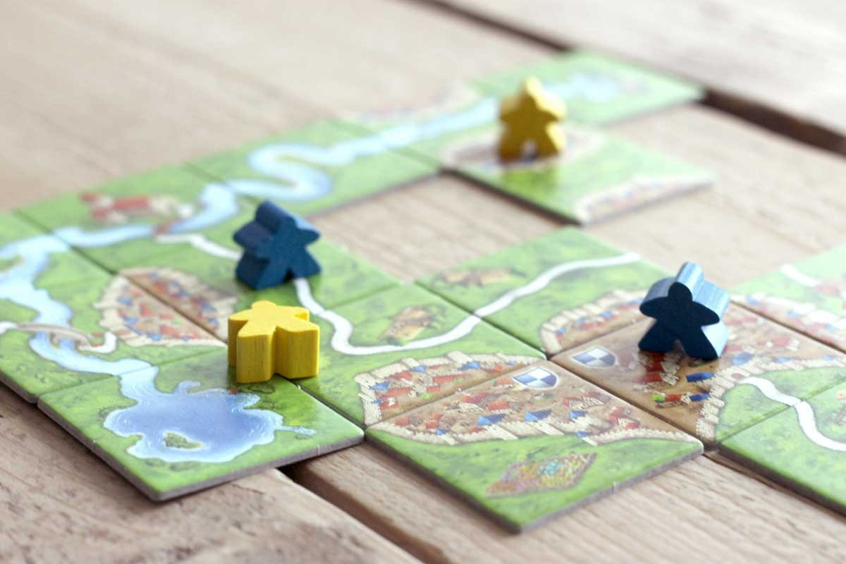 carcassonne spelletje kerst, wintereditie