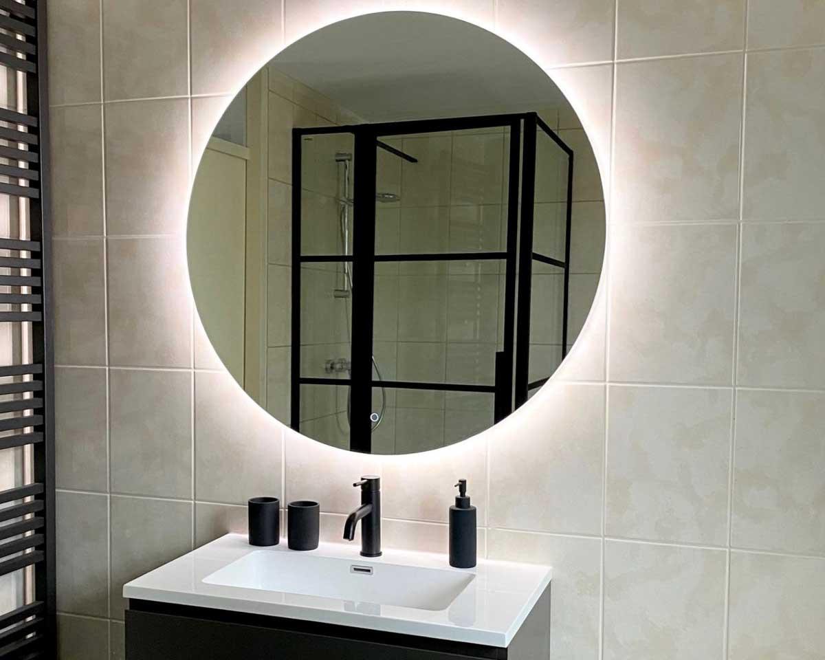 nieuwe badkamer, badkamer inspiratie, nieuwbouwhuis, moderne badkamer